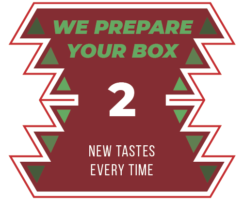 Step 2. We will hand-pick the yummiest or most indulgent products for you.